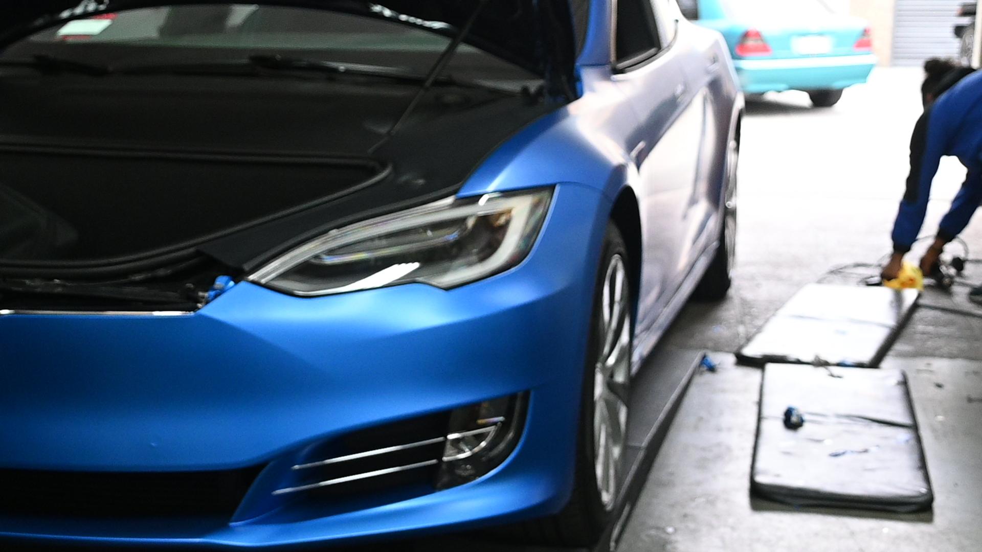 KarTunz Tesla Wrap